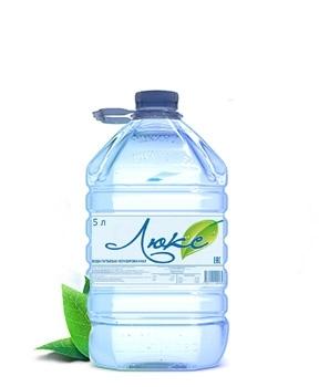 Питьевая вода высшей категории «Люкс», объем 5 литров