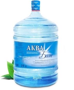 Питьевая вода высшей категории «Аквабест», объем 19 литров